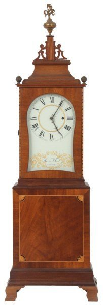 After Aaron Willard Massachusetts Shelf Clock