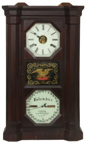 Seth Thomas Parlor Model Calendar Clock