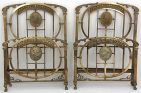 Pr. Fancy Victorian Brass Beds