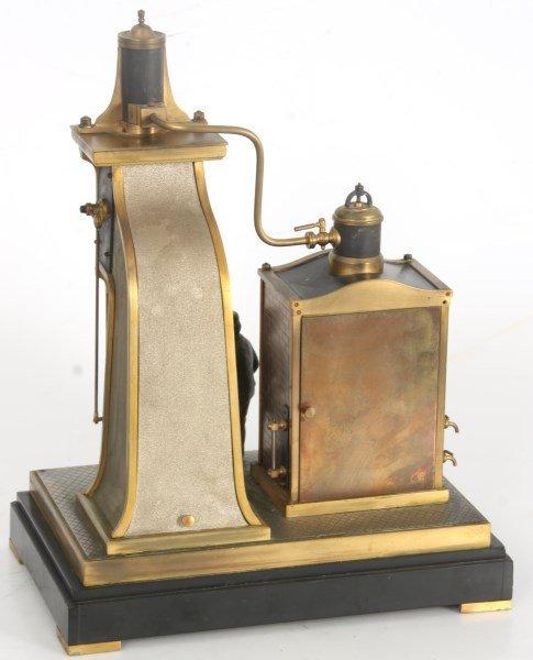 French Industrial Foundryman Mantle Clock - 10