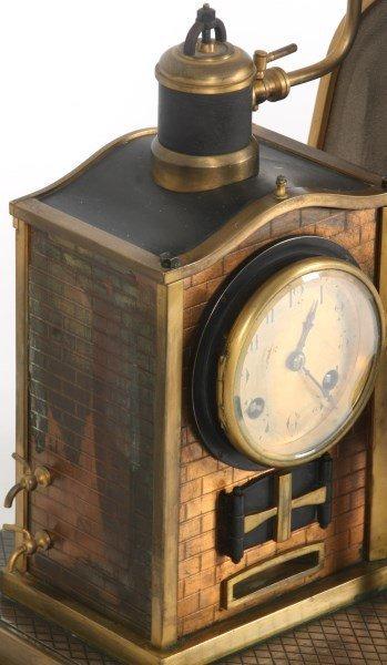 French Industrial Foundryman Mantle Clock - 6