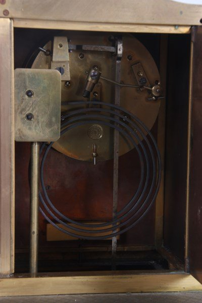 French Industrial Foundryman Mantle Clock - 7