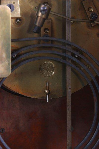 French Industrial Foundryman Mantle Clock - 8