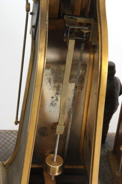 French Industrial Foundryman Mantle Clock - 9