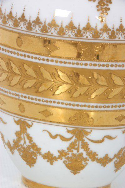 Royal Vienna Porcelain Portrait Vase - 7