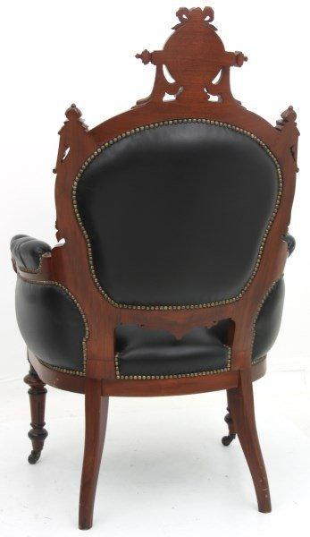 Pr. John Jelliff Walnut Parlor Armchairs - 10