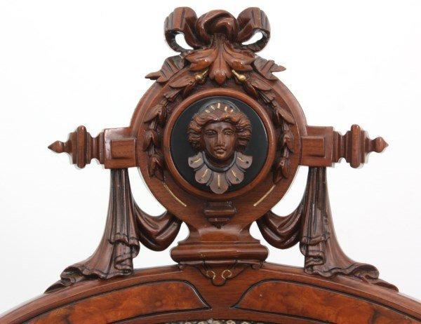 Pr. John Jelliff Walnut Parlor Armchairs - 2