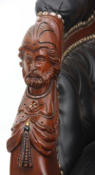 Pr. John Jelliff Walnut Parlor Armchairs - 5