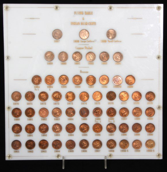 Uncirculated Indian Head Cent Collection
