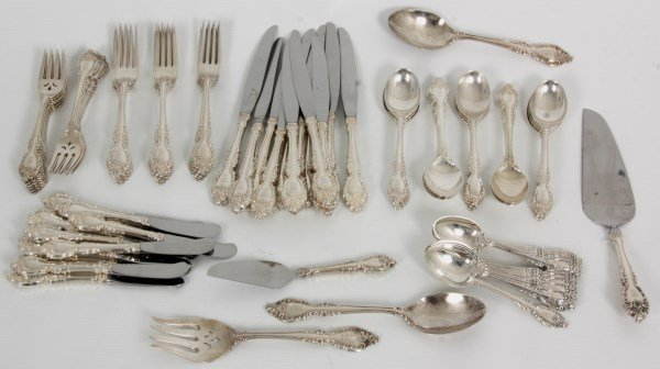 84 Pcs. Heirloom Sterling Flatware by Oneida