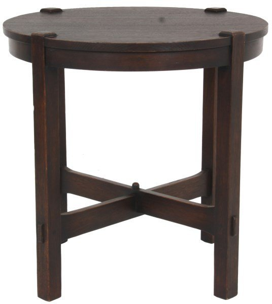 Gustav Stickley No. 439 Oak Tea Table
