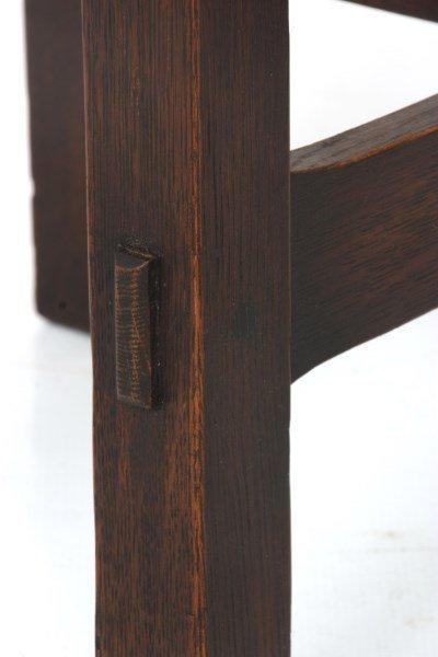 Gustav Stickley No. 439 Oak Tea Table - 6