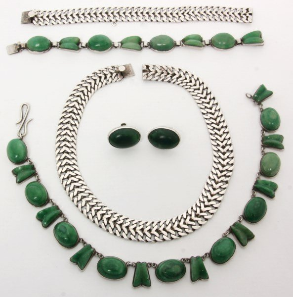 2 Mexican Sterling Silver Jewelry Sets
