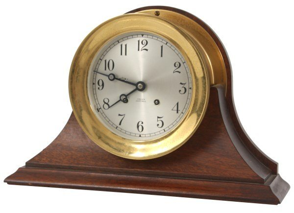Chelsea Ships Bell Mantle Clock