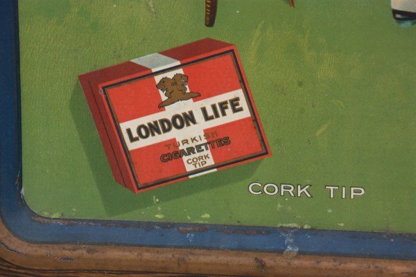London Life Cigarettes Self Framed Sign - 7