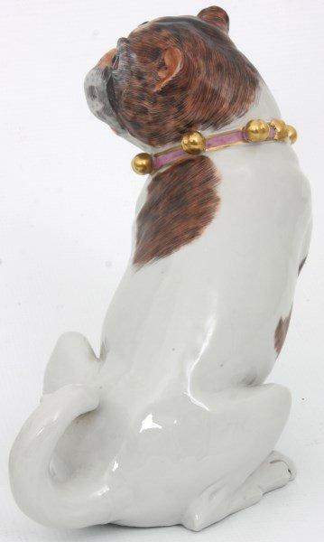 Pr. Carl Thieme Dresden Porcelain Dogs - 5