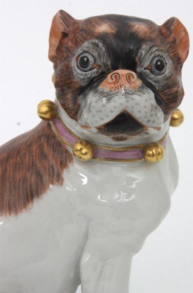 Pr. Carl Thieme Dresden Porcelain Dogs - 6