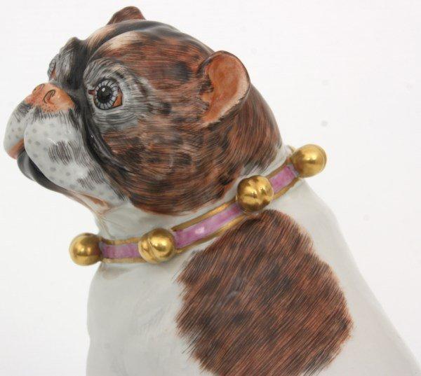 Pr. Carl Thieme Dresden Porcelain Dogs - 7