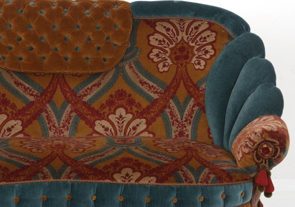 Turkish-Style Victorian Love Seat - 3