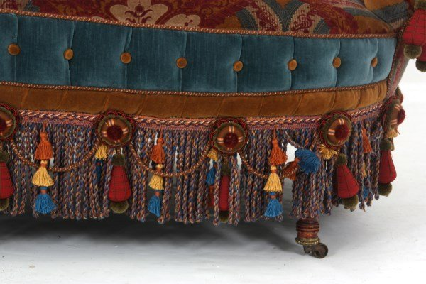 Turkish-Style Victorian Love Seat - 4