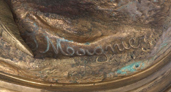 Bronze Moigniez Egret Sculpture - 10