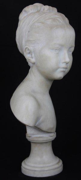 H. Gerber Carved Marble Bust - 5