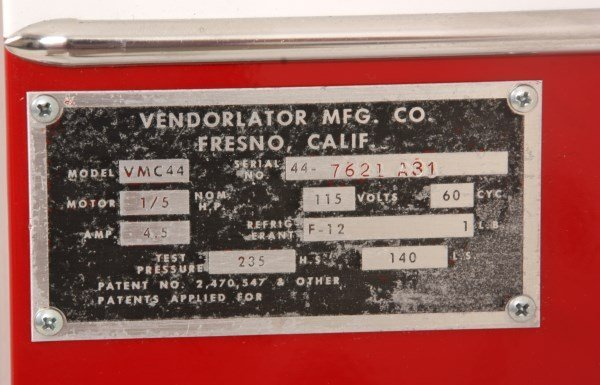 VMC Model 44 Coca-Cola Cooler & Vending Machine - 10