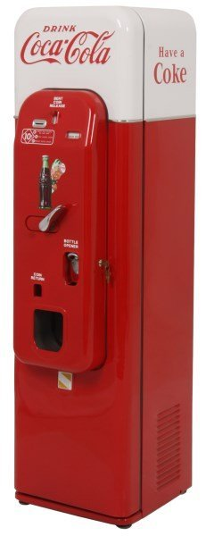 VMC Model 44 Coca-Cola Cooler & Vending Machine
