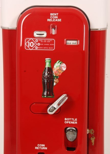 VMC Model 44 Coca-Cola Cooler & Vending Machine - 2