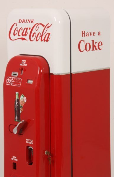 VMC Model 44 Coca-Cola Cooler & Vending Machine - 8