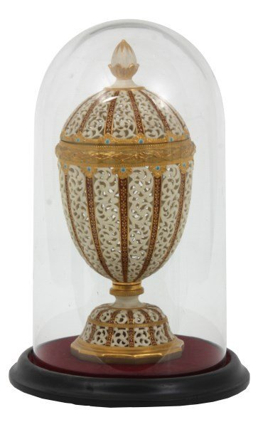 Grainger & Co. Reticulated Porcelain Urn
