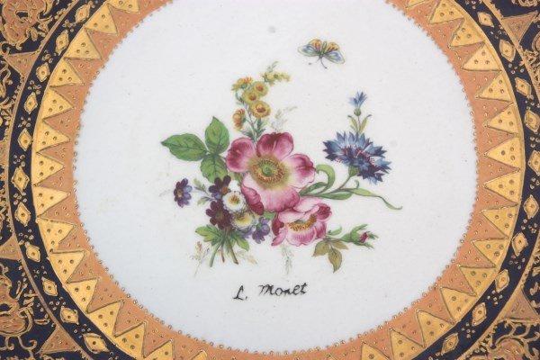 10 Attr: Louis-Philippe, Sevres Porcelain Plates - 10