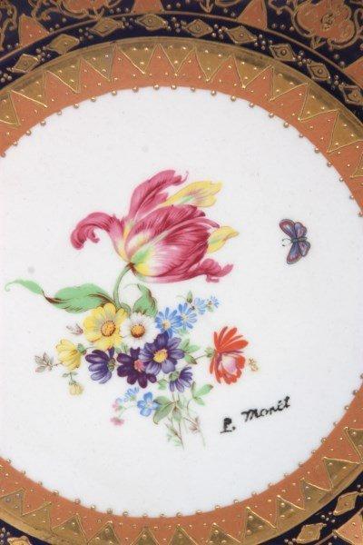 10 Attr: Louis-Philippe, Sevres Porcelain Plates - 6