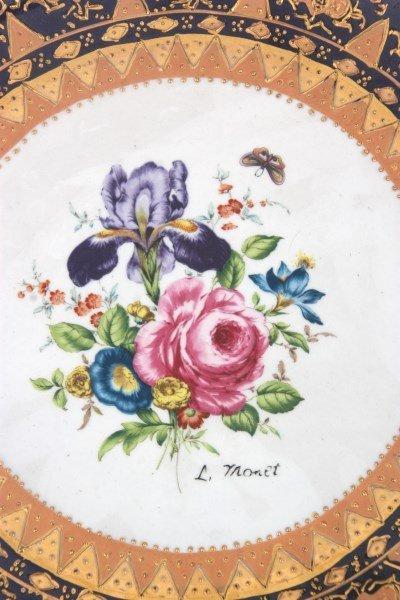 10 Attr: Louis-Philippe, Sevres Porcelain Plates - 7