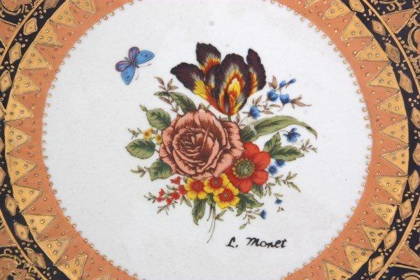 10 Attr: Louis-Philippe, Sevres Porcelain Plates - 8