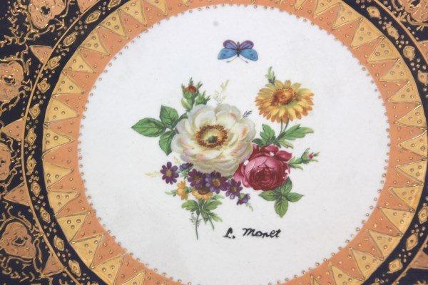 10 Attr: Louis-Philippe, Sevres Porcelain Plates - 9