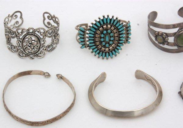 48 Sterling Silver Bracelets - 10