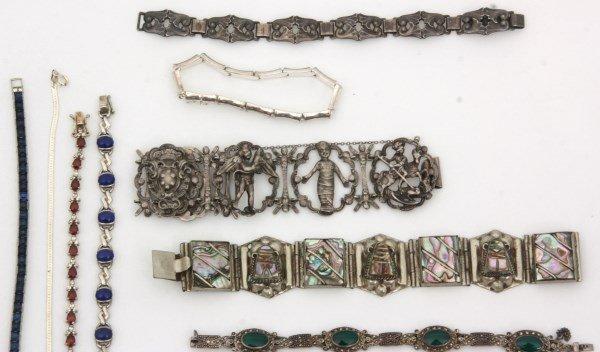 48 Sterling Silver Bracelets - 2
