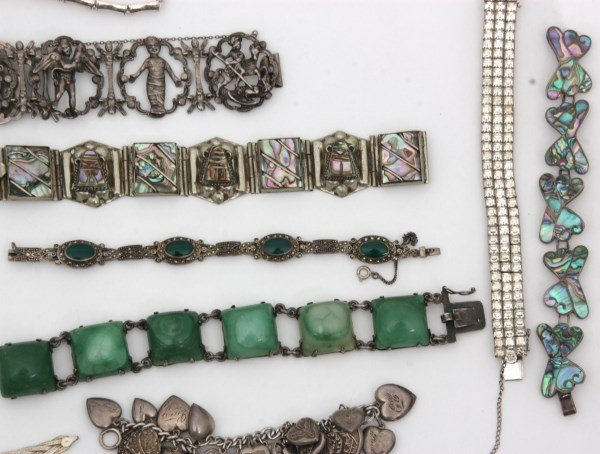 48 Sterling Silver Bracelets - 3