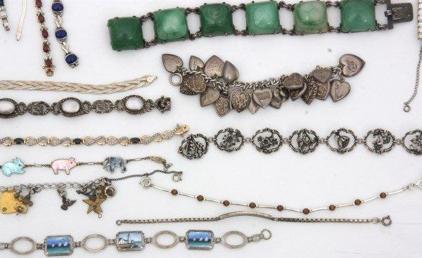 48 Sterling Silver Bracelets - 4