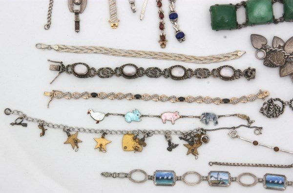 48 Sterling Silver Bracelets - 5