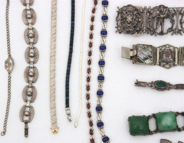 48 Sterling Silver Bracelets - 6