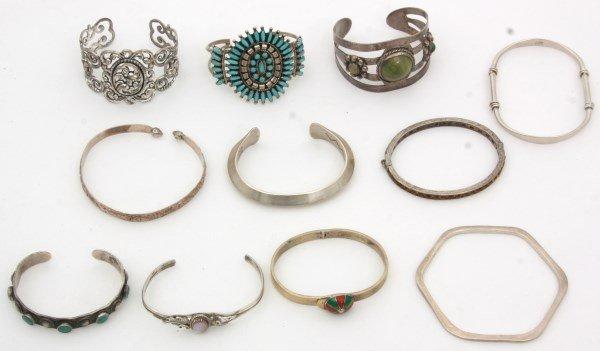 48 Sterling Silver Bracelets - 7