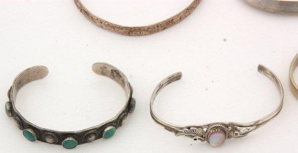 48 Sterling Silver Bracelets - 8