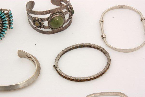 48 Sterling Silver Bracelets - 9
