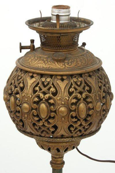 Cast Iron Banquet Floor Lamp - 10