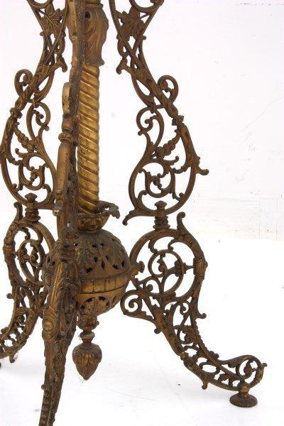 Cast Iron Banquet Floor Lamp - 7