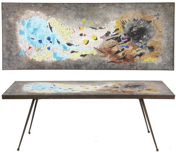 Salviati Mosaic & Bronze Coffee Table