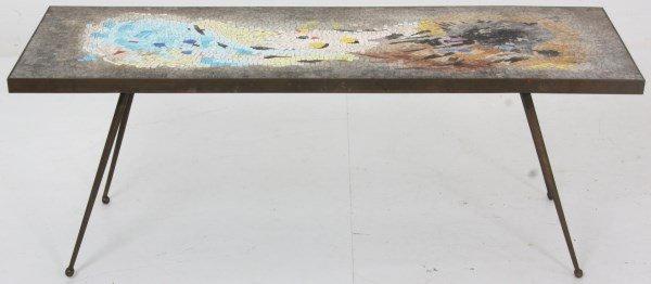 Salviati Mosaic & Bronze Coffee Table - 3