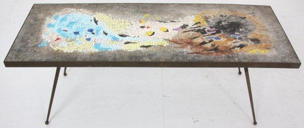 Salviati Mosaic & Bronze Coffee Table - 4